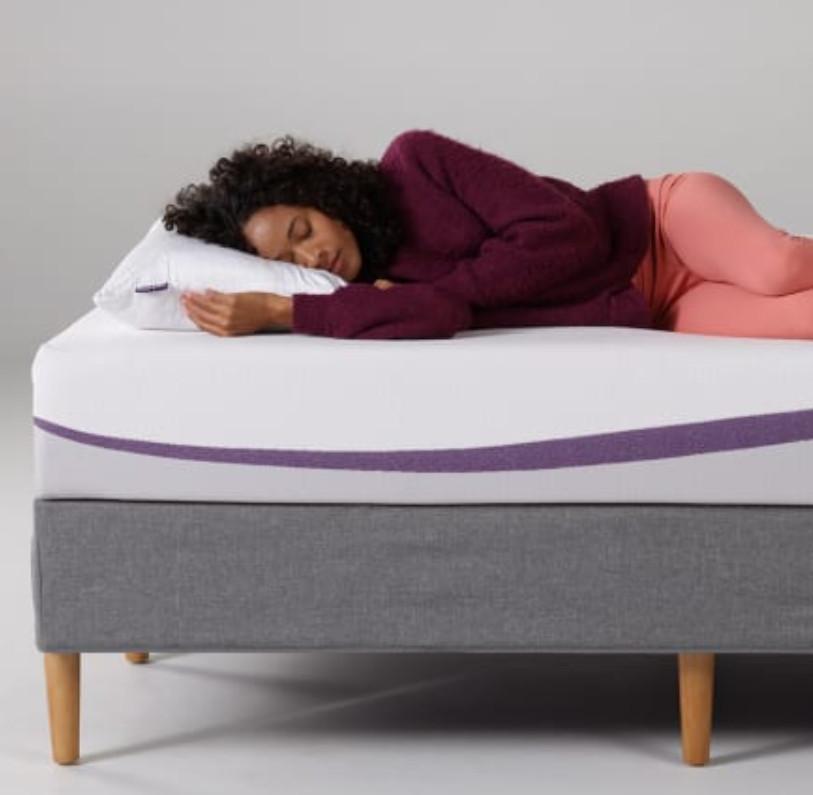 new purple mattress for cooler sleep