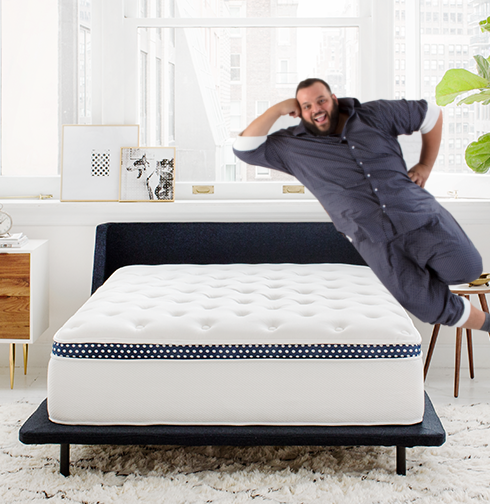 best mattress for large people winkbed plus