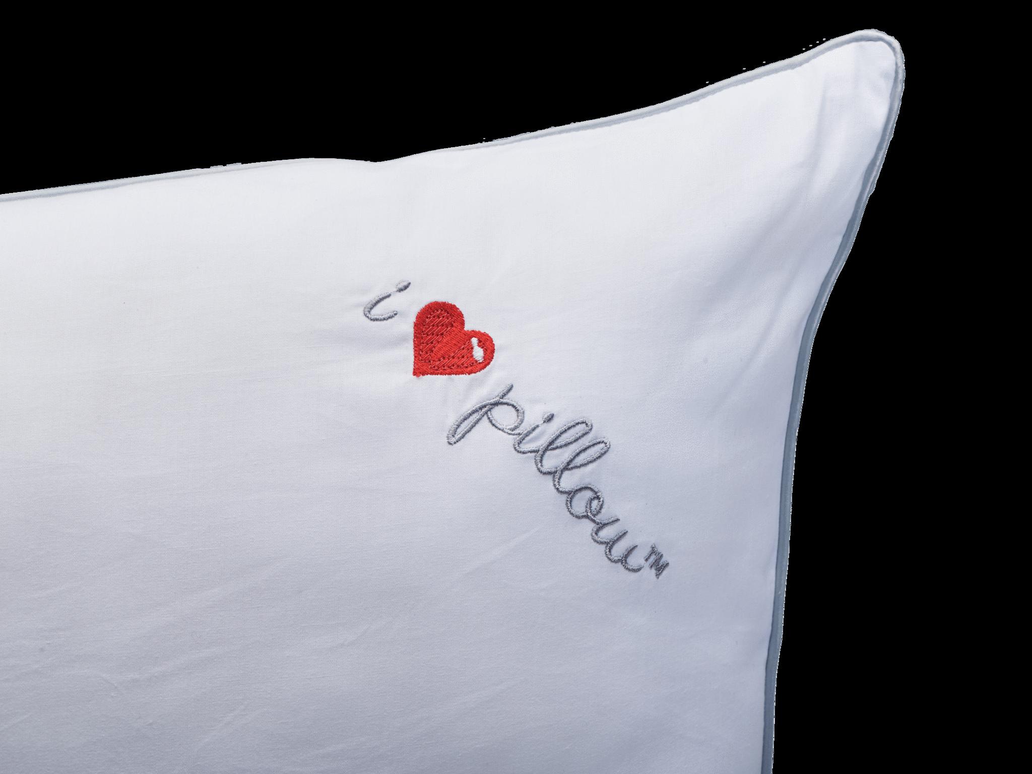 i heart pillow cumulus down-alternative pillow feel