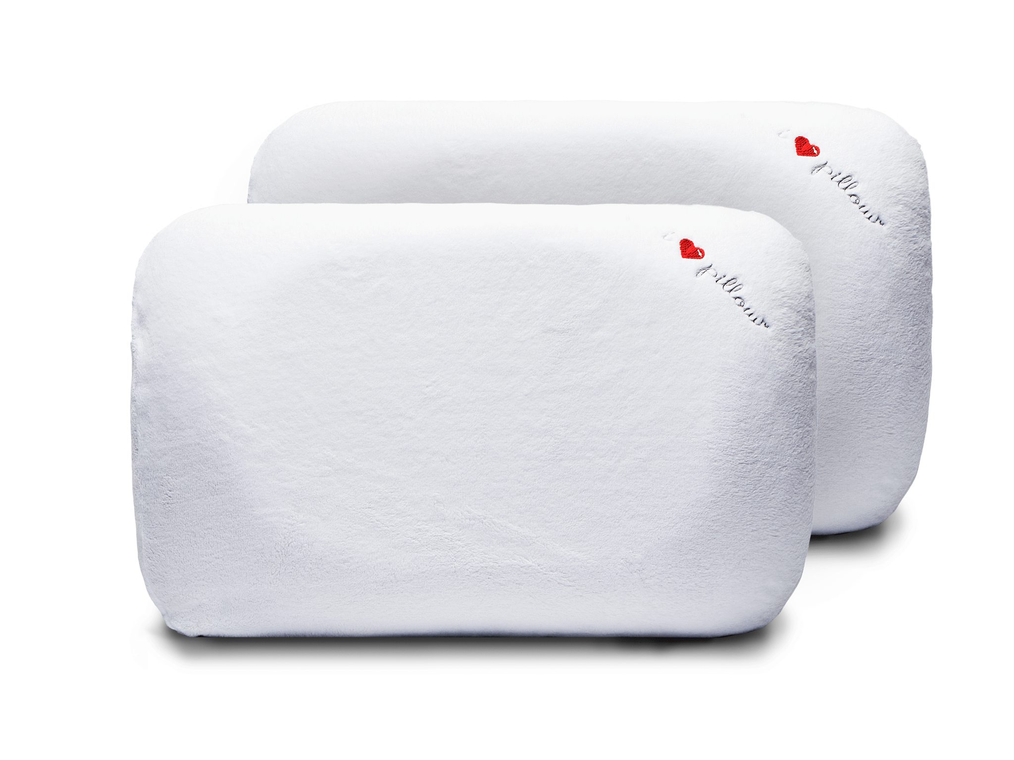 two pack memory foam pillows