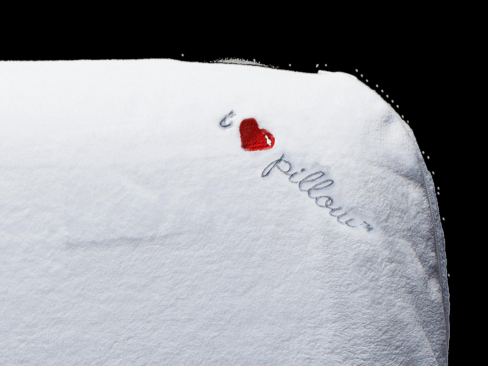 i heart my pillow memory foam pillow