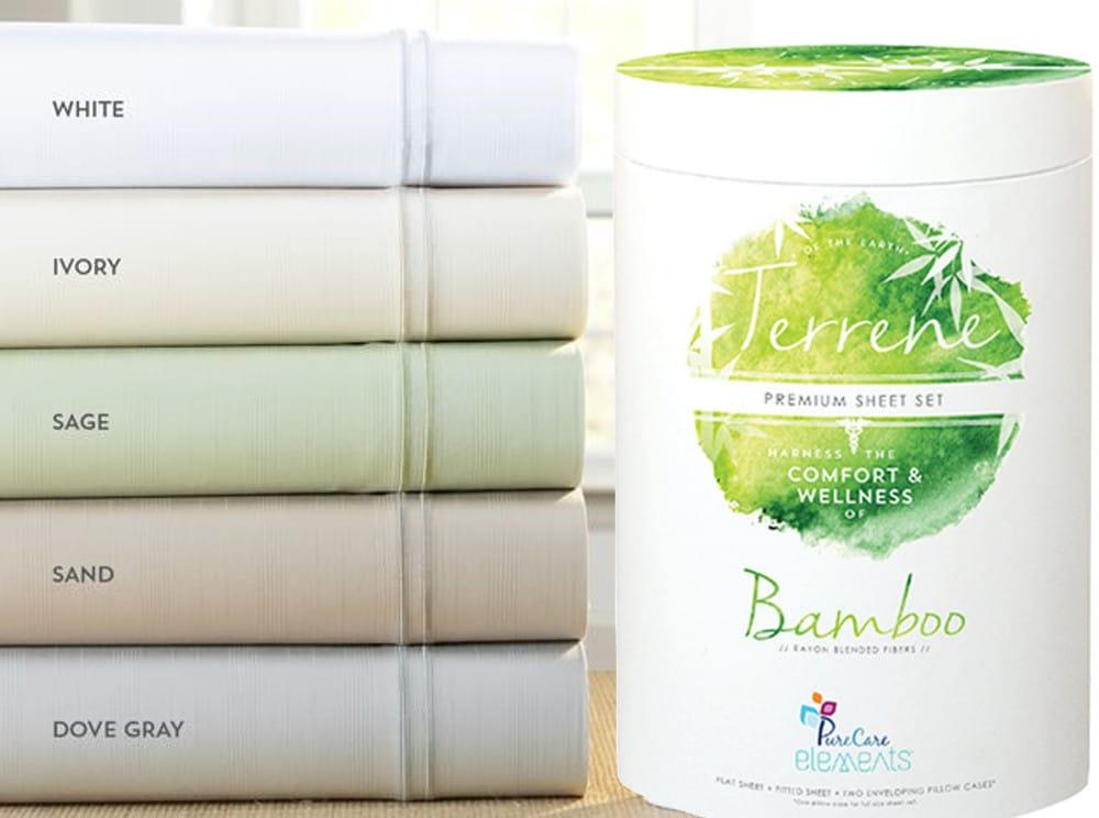 purecare bamboo sheet set
