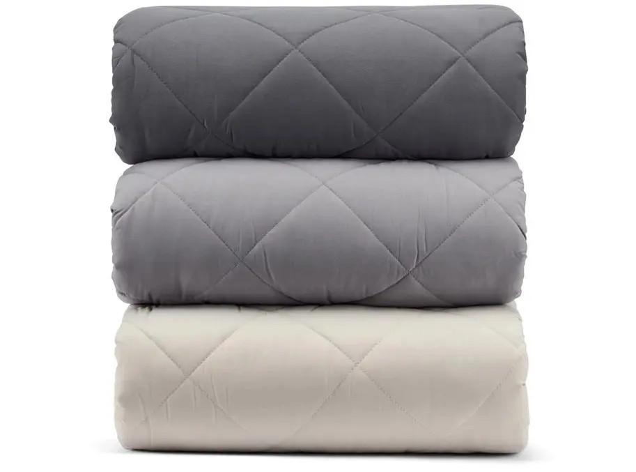 quilted weighted blanket by bear mattress brand