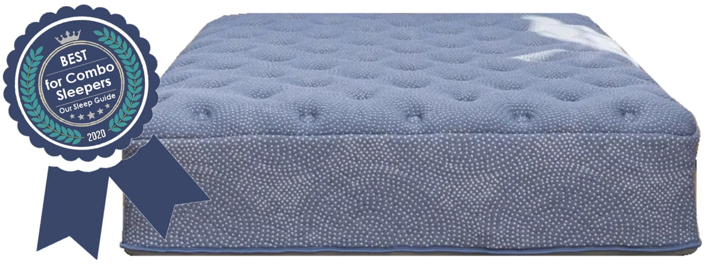 best mattress combination sleepers luft