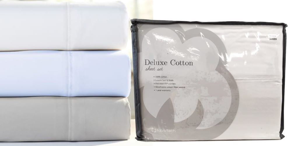 deluxe cotton sheets