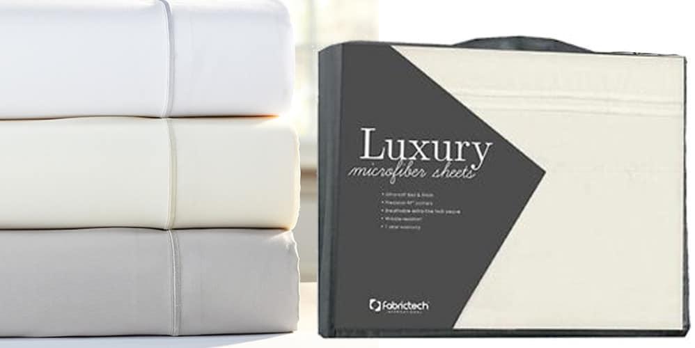 luxury microfiber sheets