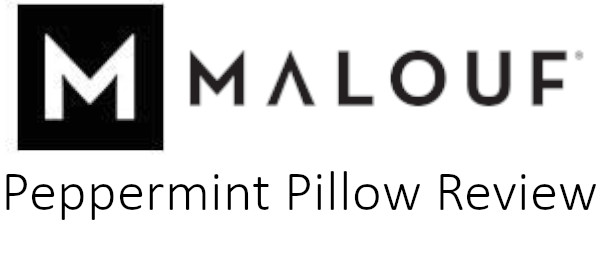 peppermint activedough memory foam pillow review