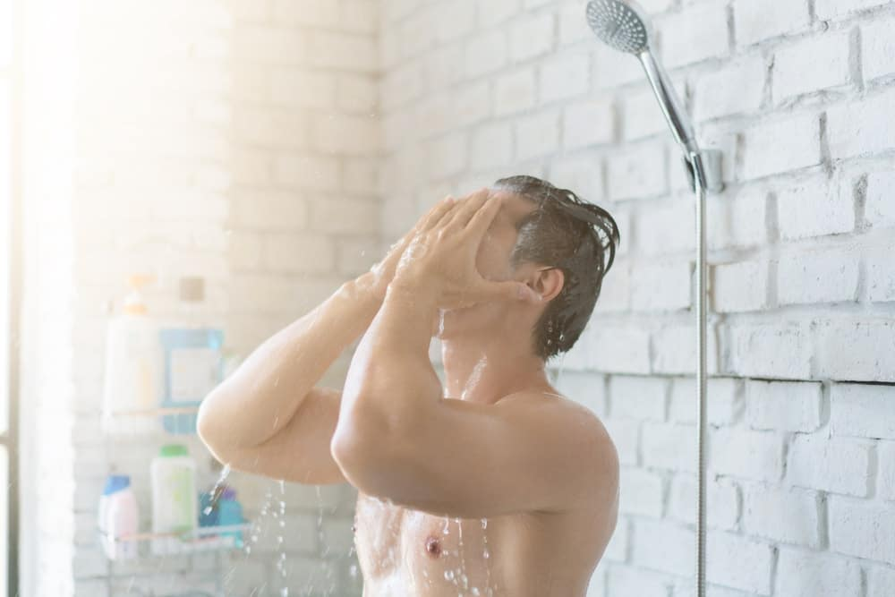 showers are great for waking up