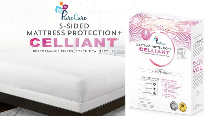 celliant mattress protector