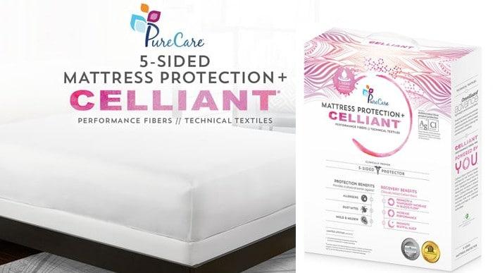 celliant mattress protector