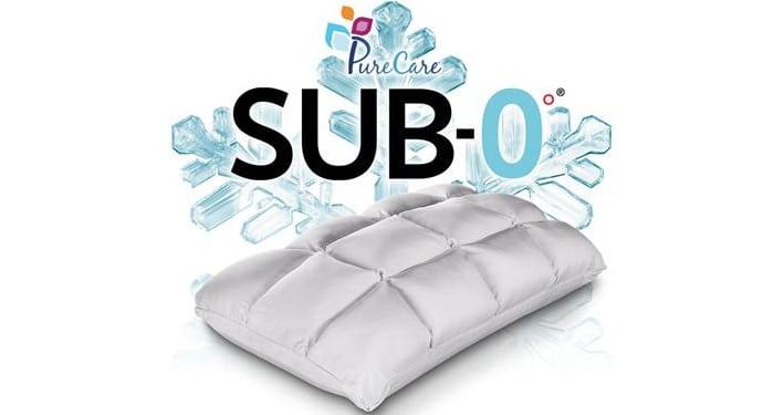 pure care sub 0 latex pillow