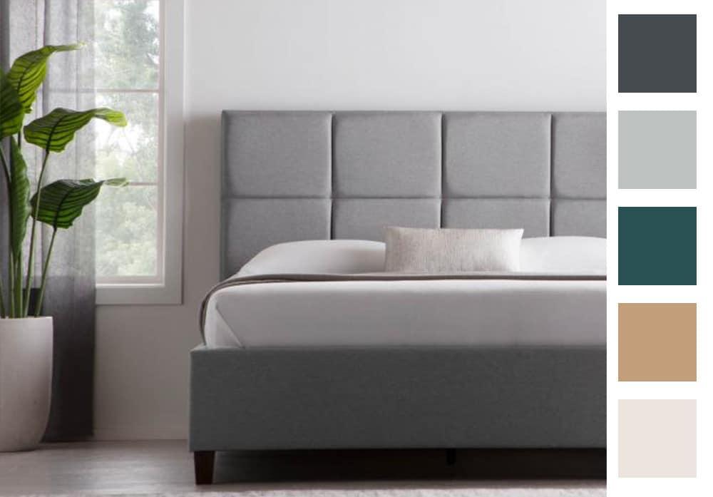scoresby designer bed frame