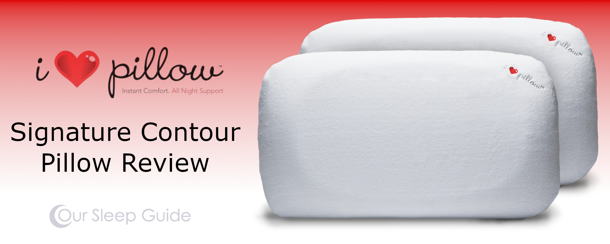 i love pillow signature contour pillow review our experience