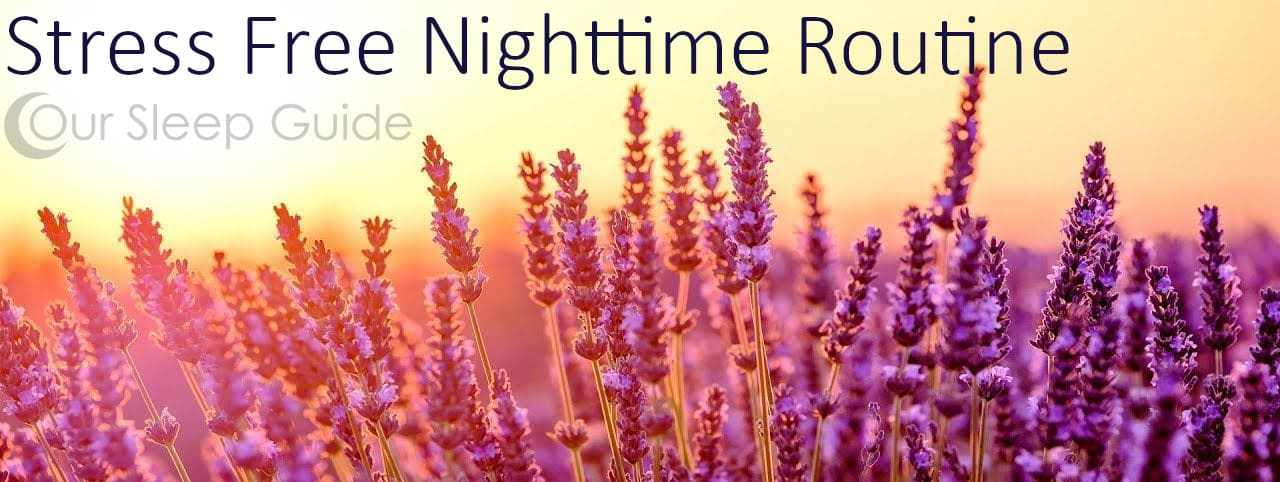stress free night time routine
