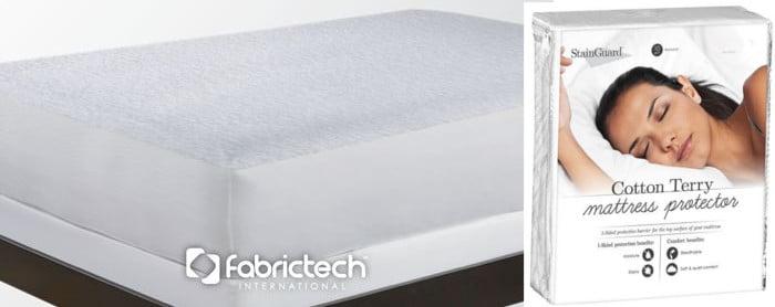 terry cloth mattress protector