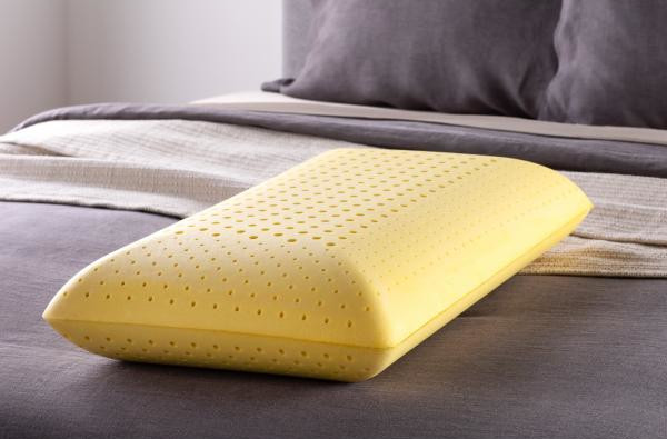 malouf chamomile scented pillow comfort and perforation activedough foam