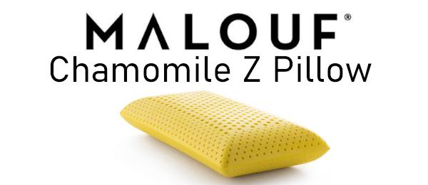 malouf chamomile pillow