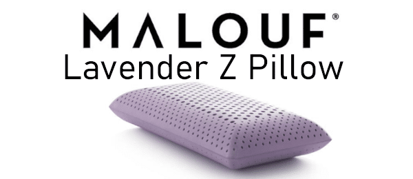 activedough zoned lavender pillow