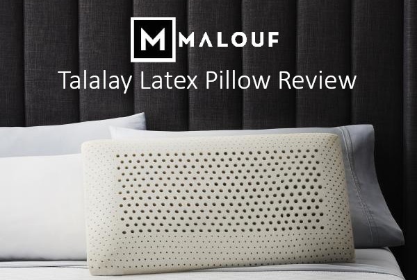 talalay latex pillow review malouf