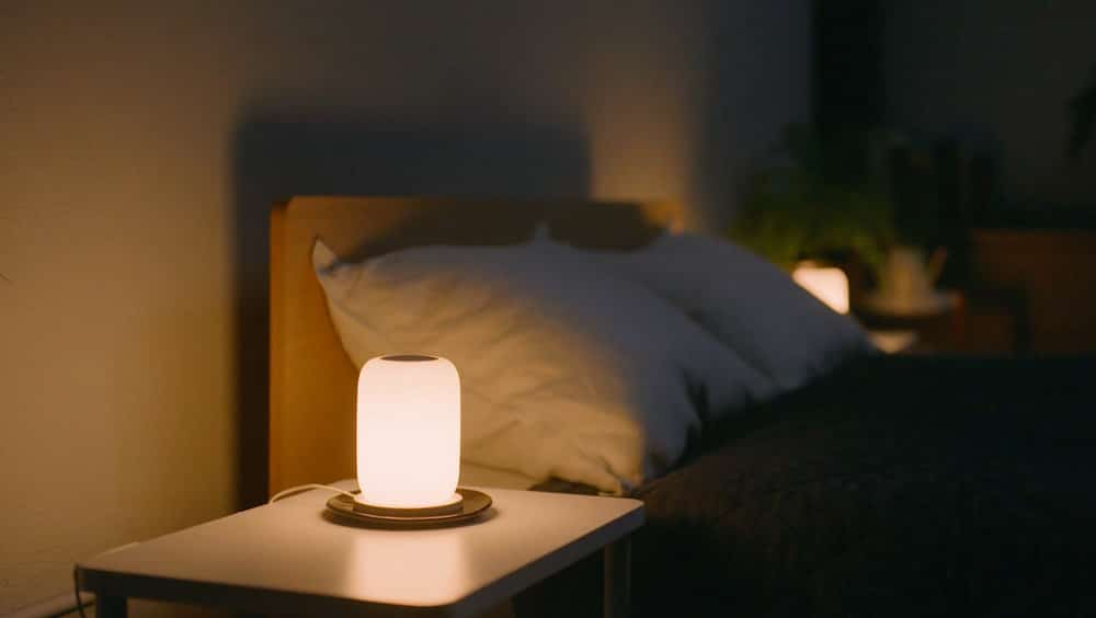 smart alarm casper glow light