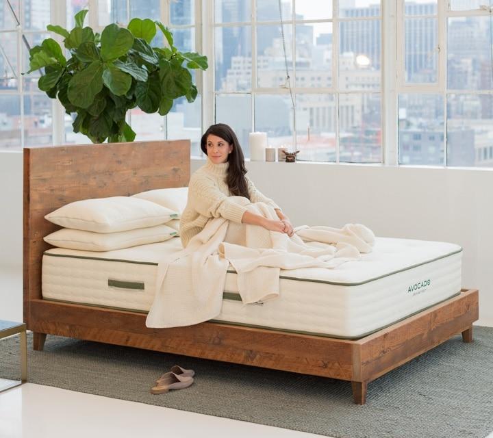 gorgeous handmade bedframe by avocado