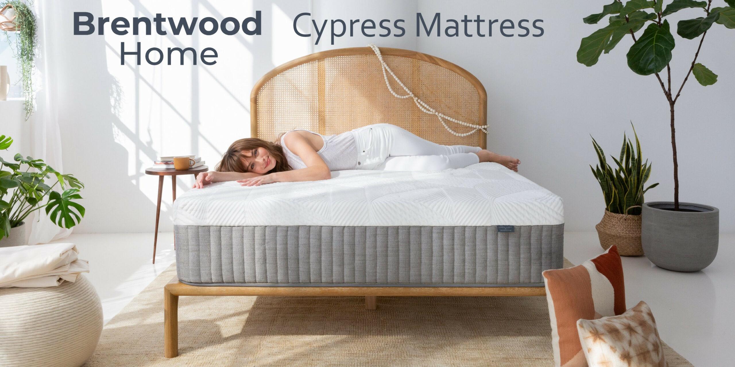 review memory foam hybric cypress mattress