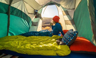 top tips for sleeping well while camping