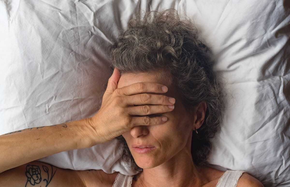 menopause problems with sleep