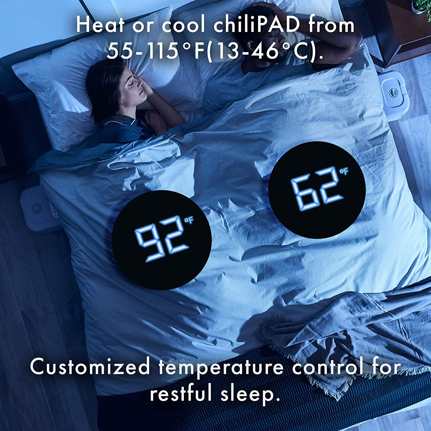 ways to stay cool at night