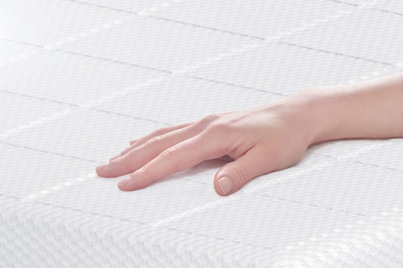 idle sleep gel foam bed cover