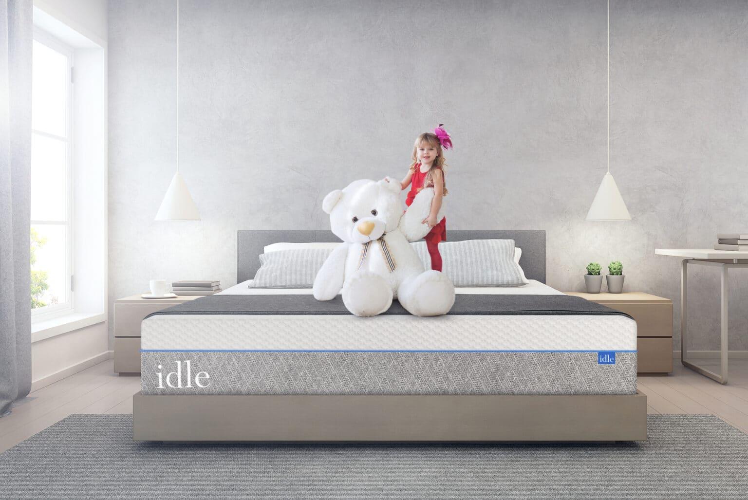 idle sleep gel all foam bed