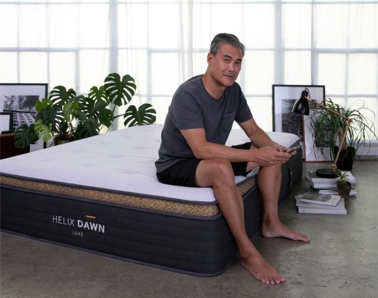 helix luxe dawn mattress