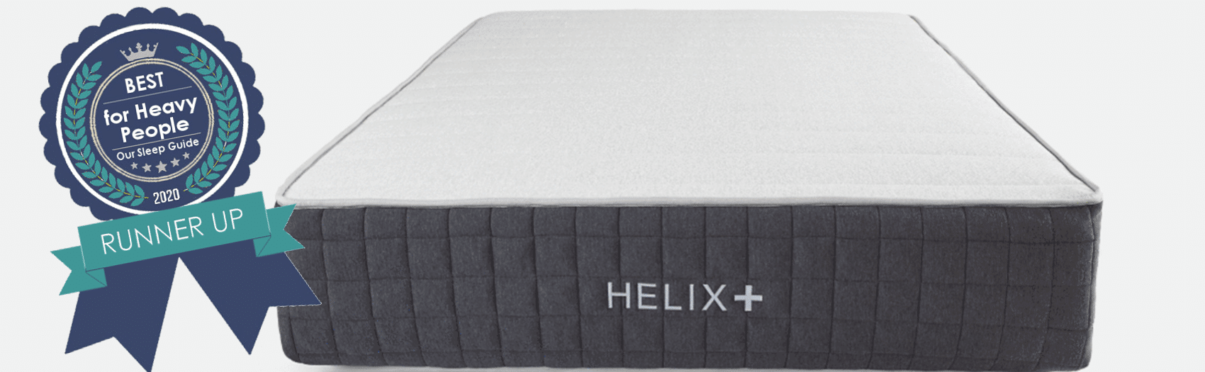 helix plus best mattress for big people
