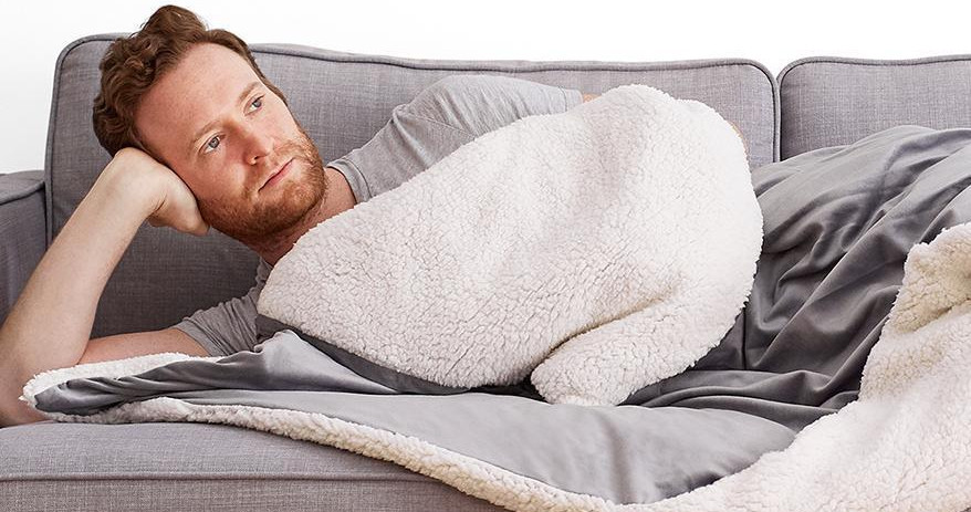 helix weighted blanket for cold sleepers