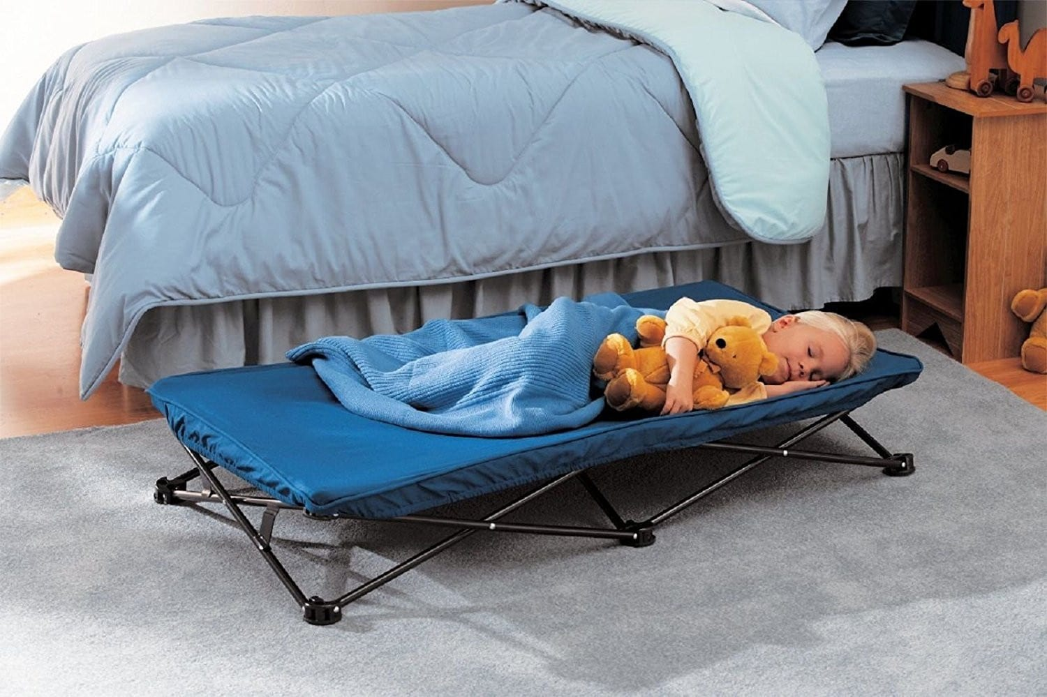cots and extra beds for kids to sleep better