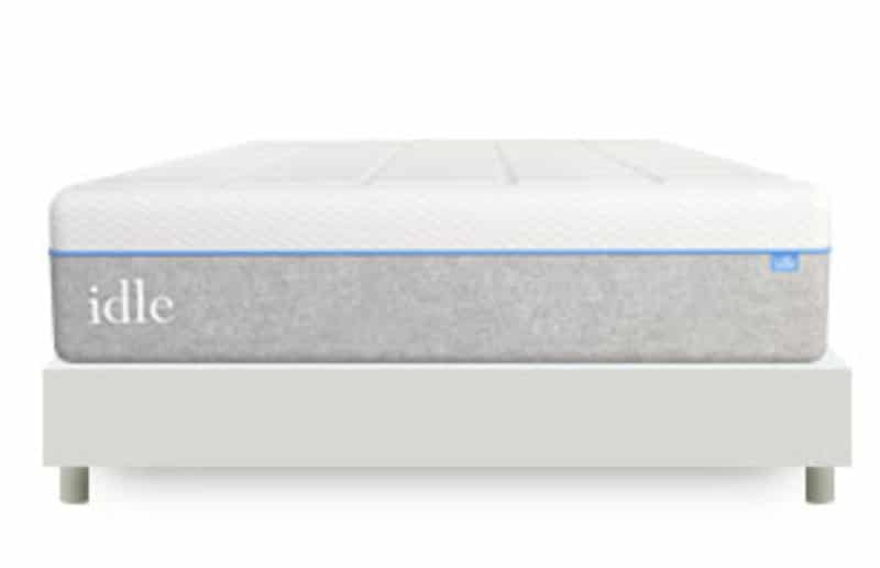 idle gel plush foam mattress