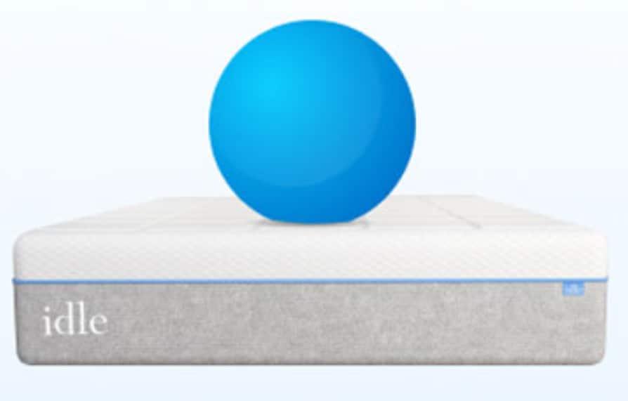 idle gel mattress motion isolation