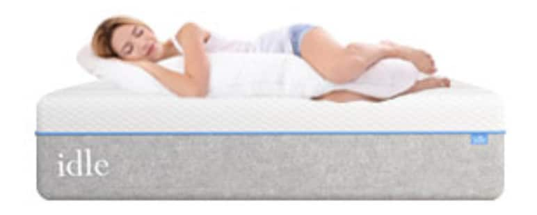 idle sleep gel plush mattress