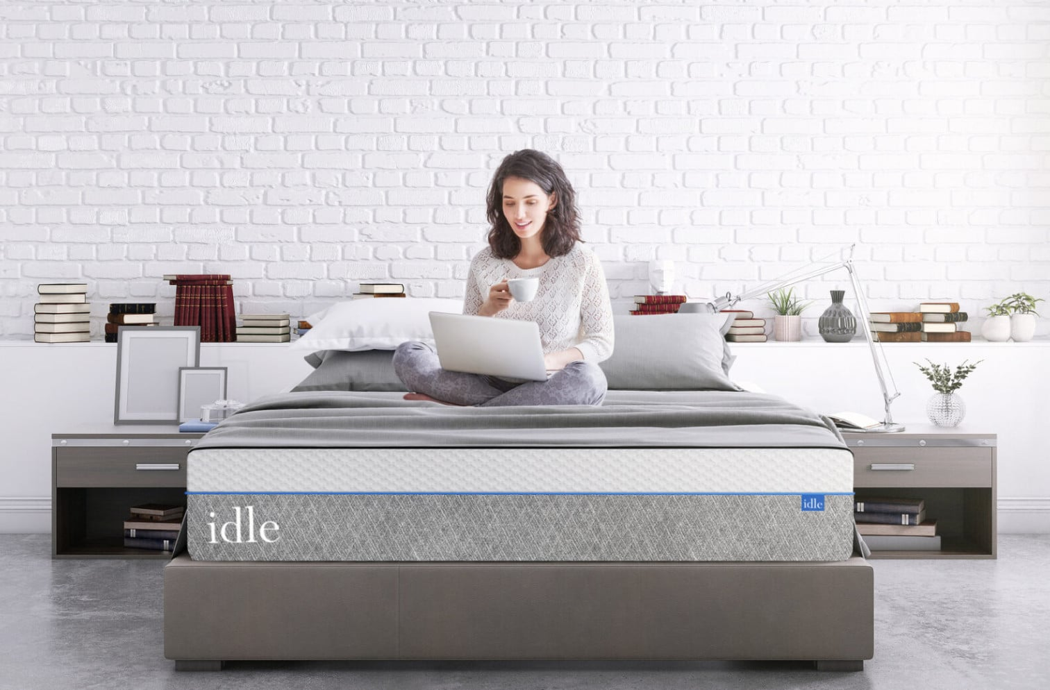 idle sleep plush gel mattress