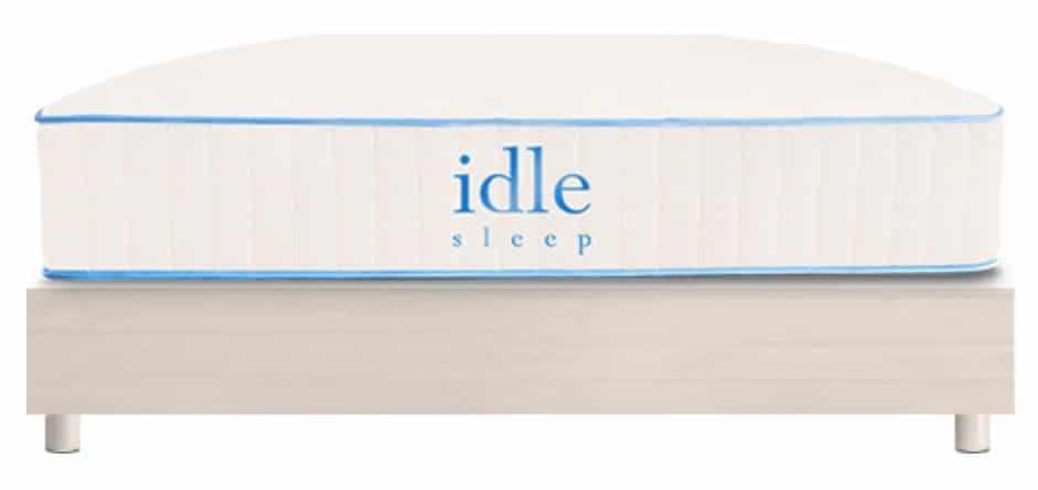 idle latex hybrid mattress review