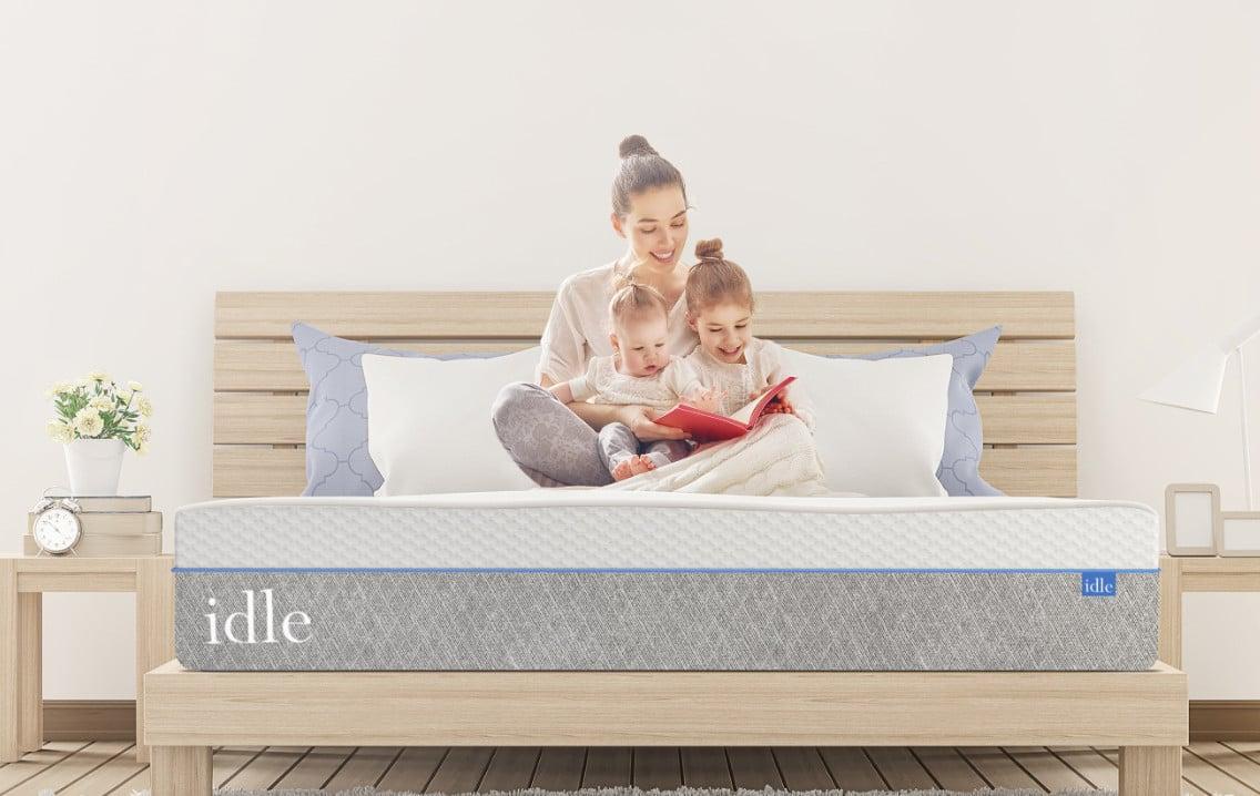 idle sleep memory foam mattress