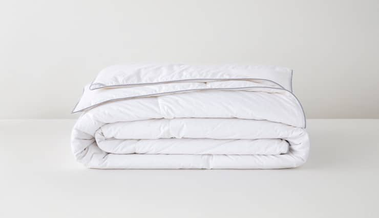 top down alternative duvets