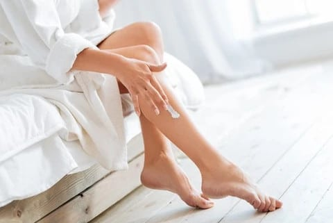 massage your legs to ease rls pain