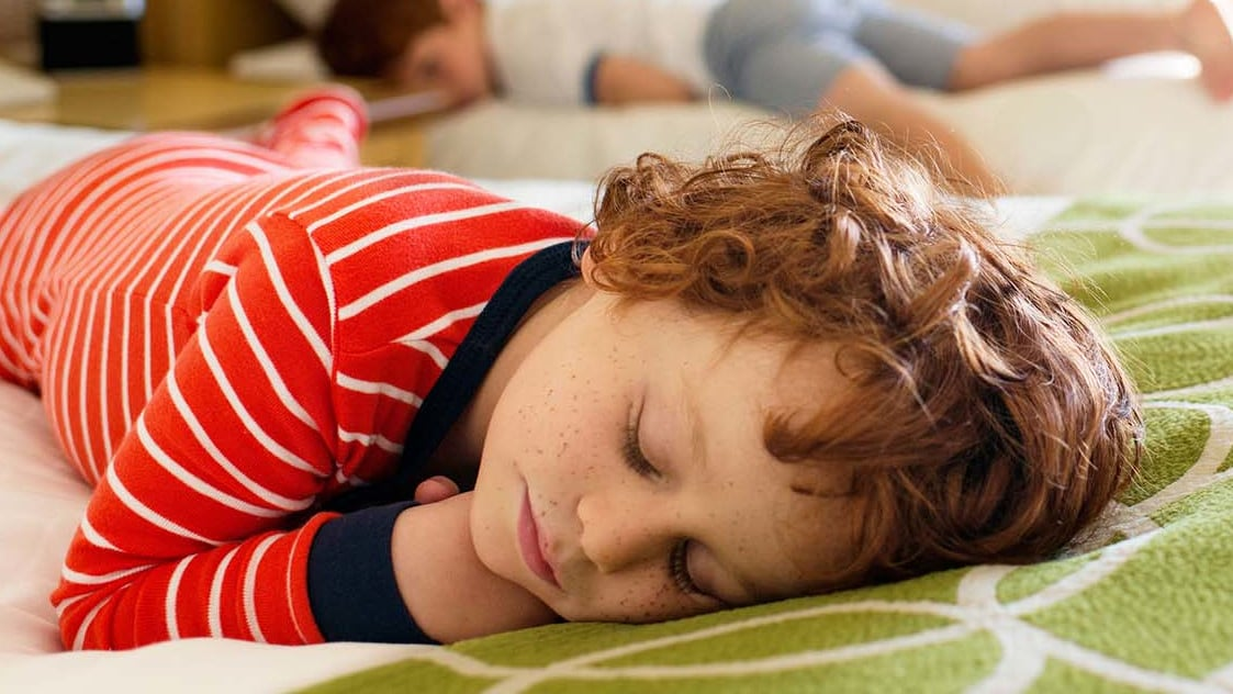 sleeping at night for kids