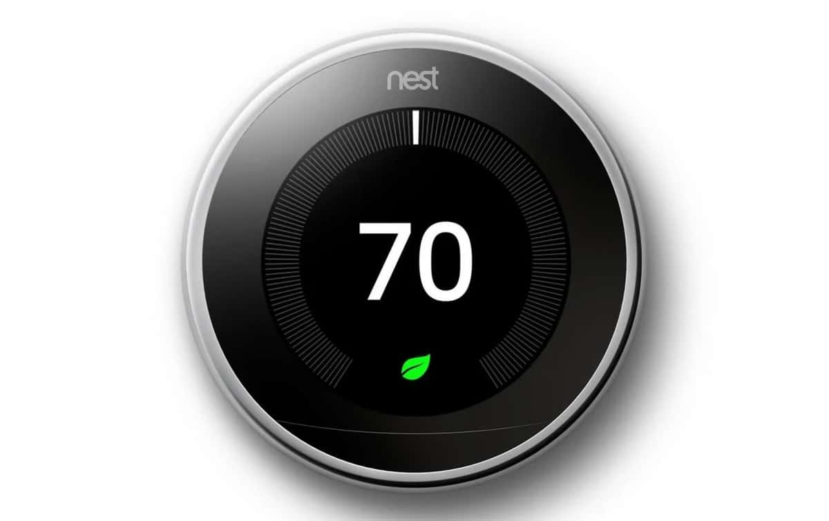 nest thermostat perfect for sleep temperature in a smart room