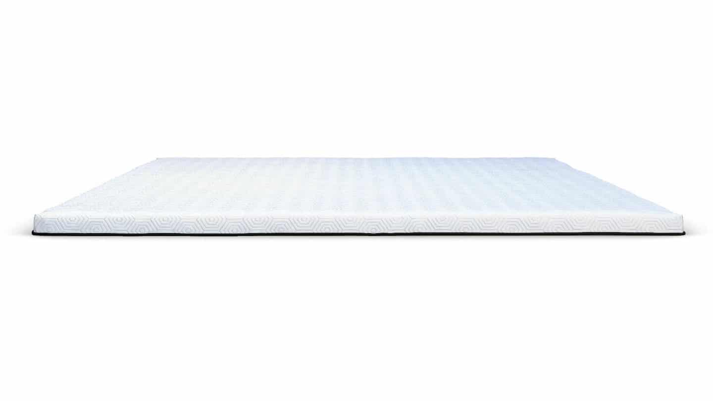 cool memory foam mattress topper