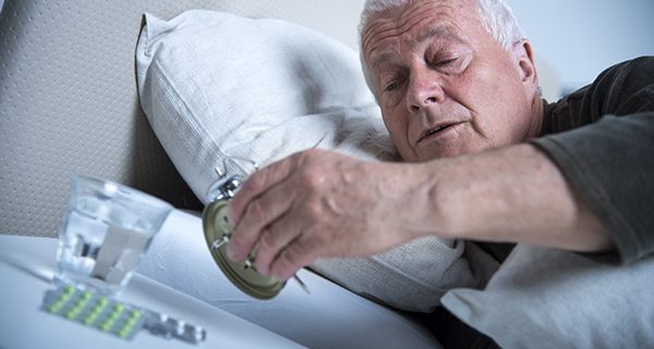 getting the right amount of sleep while aging