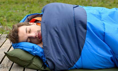 tips and products for sleeping well while camping