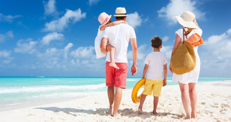 get better sleep on your next family vacation