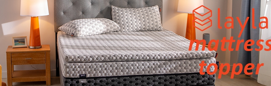 layla matress topper for comfort